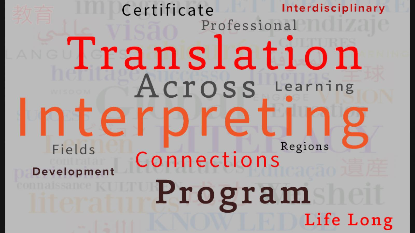 Translation and Interpreting Graphic