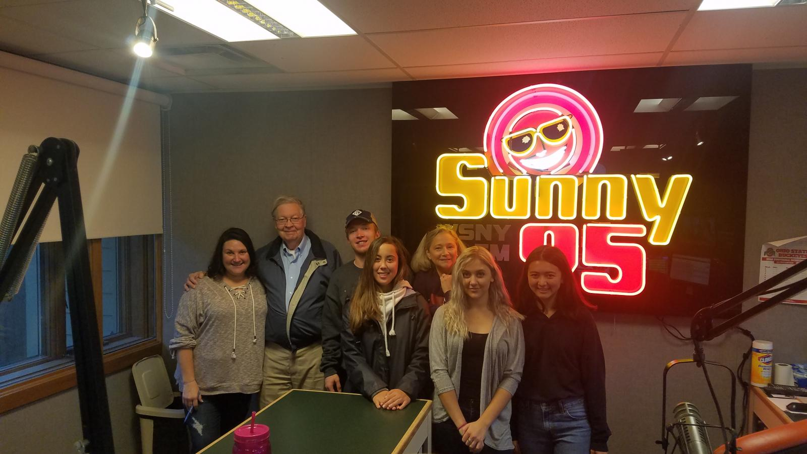 CLLC Radio Group at Sunny 95